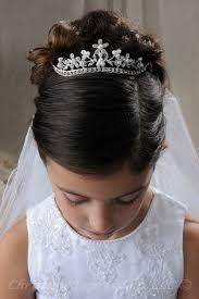 cute hairstyles for first communion first communion hairstyle 1 first communion pinterest