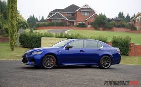 lexus gsf custom 2016 lexus gs f review video performancedrive