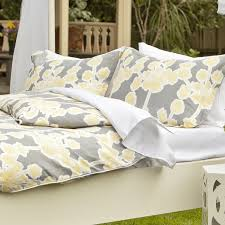 buy yellow duvet cover from bed bath beyond within grey and ideas