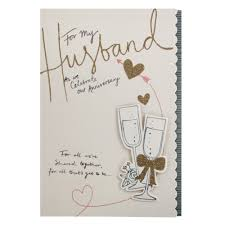 card for husband hallmark anniversary card for husband all we ve shared medium