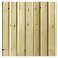 Wood Wall Paneling by Shop Empire Company 3 5625 In X 8 Ft Edge And Center Bead Raw Pine
