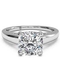 cushion cut engagement ring cushion cut engagement rings