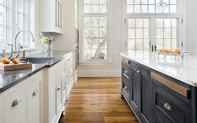 beautifully remodeled kitchen in a massachusetts salt box style