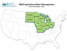 United States Map Missouri by Water Management Nrcs