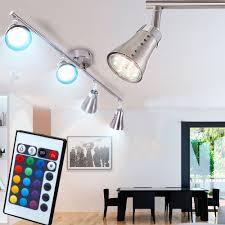 deckenstrahler mit fernbedienung und beweglichen spot lampen
