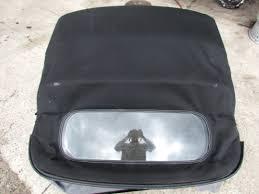 boxster porsche 1998 1998 porsche boxster 986 convertible top glass soft black ebay
