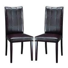 leather dining room chairs custom flatiron nailhead upholstered