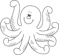 sea creatures coloring page free printable octopus coloring pages for kids animal place
