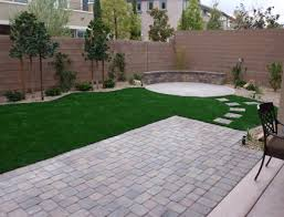 Arizona Backyard Landscaping Ideas Extension Of Deck Stepping Stones Fire Pit Area Sitting Area