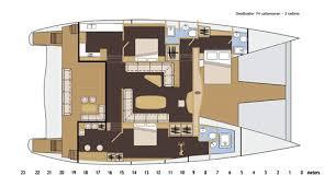 Catamaran Floor Plans Seaboater Catamaran 74 02 Jpg
