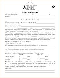 8 apartment lease agreement printable receipt