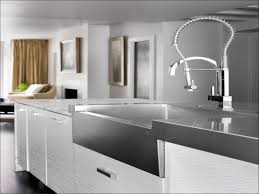 kitchen faucet in biscuit fantastic nickel wide spread aquasource