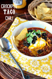 simply scratch slow cooker taco chili simply scratch