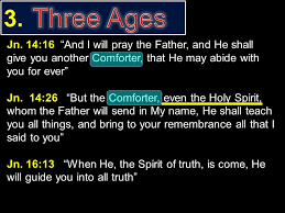 Holy Spirit My Comforter The Holy Spirit Part 1 Introduction Part 2 Inspiration Ppt