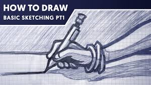 how to draw sketching basics pt 1 with dasedesigns youtube
