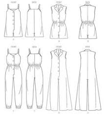 jumpsuit stitching pattern fashionable yet comfortable woven jumpsuit with elastic waist