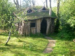 exterior design wooded fairytale cottages design ideas with grass
