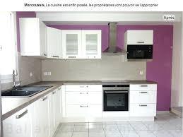 cuisine blanche laquee cuisine laquee blanche 6 cuisine laquace blanche mur violet