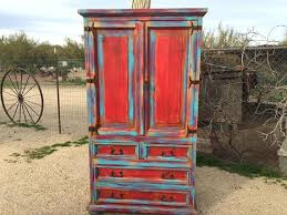 armoire dictionary armoire distressed armoire furniture sold wood turquoise red