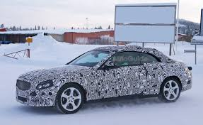 2015 mercedes c class convertible 2016 mercedes c class convertible spied in the autoguide