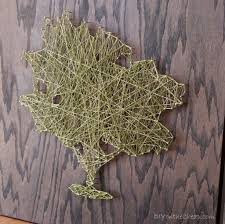 string art tree wall mural wall murals you ll love string wall art tree how to make a mural home
