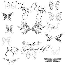 25 fairy wings drawing ideas fairy wings