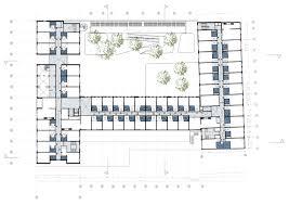 hotel floor plan gallery of the student hotel the hague hve architecten 12