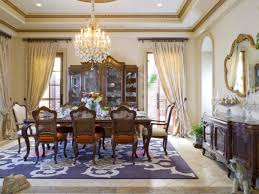 dining room interesting brown chandelier above dark table and