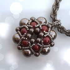 beaded beads necklace images Beading tutorial dorothy pendant beaded bead beading tutorials jpg