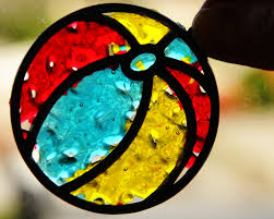 craft stained glass you bake in the oven remember this