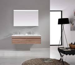 Bathroom Vanities Oak by Ibiza 1500mm White Oak Timber Wood Grain Wall Hung Double