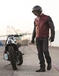 black motorbike jacket motorcycle jacket roland sands ronin brown black 24helmets de