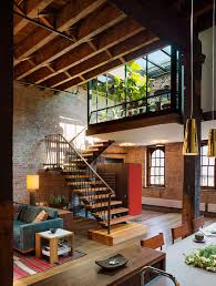 industrial loft in tribeca with retractable glass roof