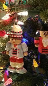 salt bread dough art christmas ornaments crafts pinterest