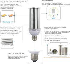 Light Led Bulb by Explosion Proof Lights Led Bulb 54w E27 E40 Corn Led 6000 Lumen