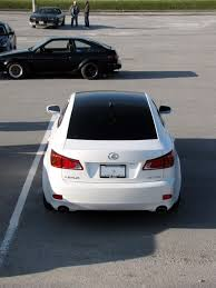 lexus is 250 custom black black vinyl roof with moonroof lexus is forum