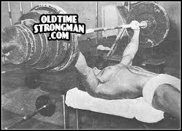 Bruno Sammartino Bench Press Strength Fighter Marvin Eder Bench Press 430 Lbs At 19 Years Of