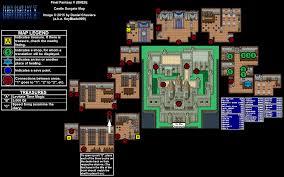 final fantasy v castle surgate map for playstation by keyblade999