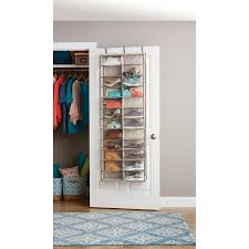 over the door organizer better homes and gardens over the door shoe organizer walmart com