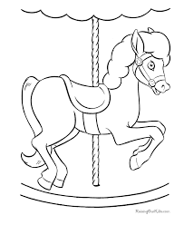 horses coloring pages kids 024