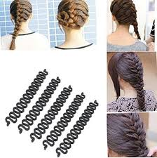 bun accessories opcc 5pcs fashion hair styling clip stick bun maker braid
