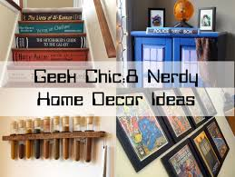 geek chic 8 nerdy home décor ideas blindster blog