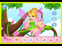 fairytale baby tinkerbell caring video game kids 2015