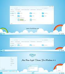 windows 8 1 bureau mac blue light re up theme for windows 8 1 cleodesktop mod