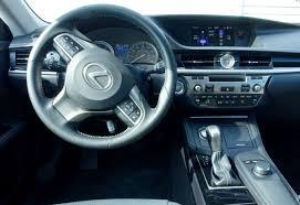 lexus sedan 2016 interior 2016 lexus es 350 review