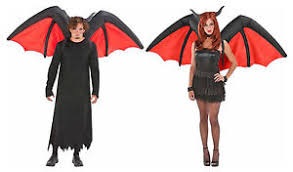 Inflatable Halloween Costume Airblown Inflatable Halloween Demon Devil Wings Costume Accessory