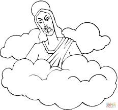 jesus coloring pages preschool risen easter free