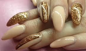 how to gelnails w copper glitter u0026 stripes fail youtube