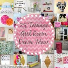 Bedroom Decorations For Girls by Fun Diy Projects For Teenage Bedroom Decor Photo Montage By