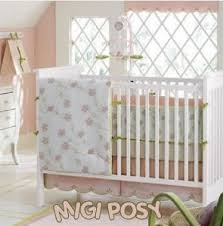 Shabby Chic Baby Bedding For Girls by Shabby Chic Garden Nursery